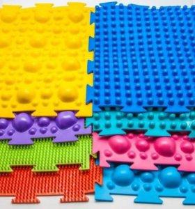 Массажные орто-коврики новые набор 8 шт.