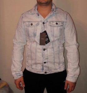 Новая джинсовая куртка Bershka