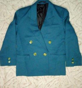 Пиджак детский школьный 2 шт.