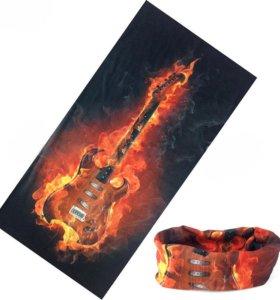 Бафф мультифункциональный (платок бандана шарф) 4