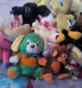 Мягкие игрушкиновые