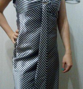 Вечернее платье с балеро