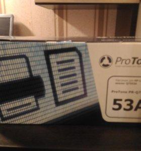 Картридж ProTone Q7553A НОВЫЙ!!!