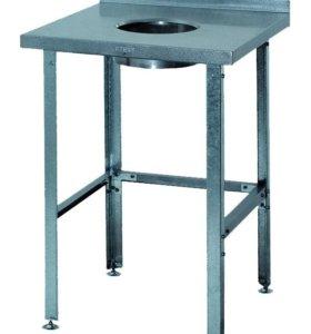 Стол ATESY CPО-3/600/600/870 для сбора отходов