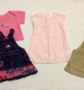 Одежда для малышки 4-7 мес