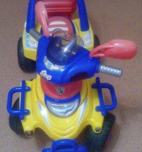 Электромобиль детский. Вещи на мальчика...