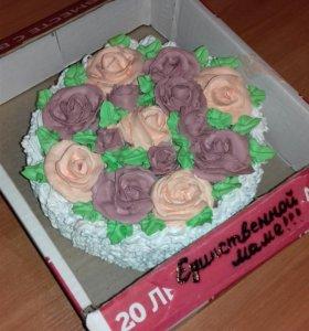 Пеку на заказ домашние торты