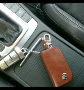 Кожаный Чехол для ключей Volkswagen
