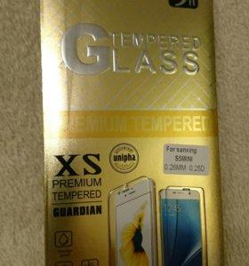 Защитное стекло для Samsung S5 mini