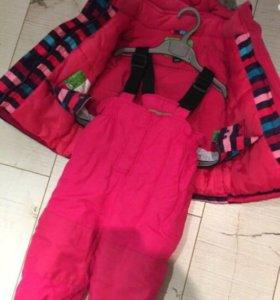 Зимний костюм для девочки до -30