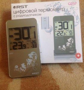 Цифровой термометр с радиодатчиком