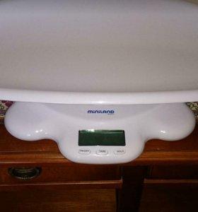 Детские весы miniland трансформер 2в1