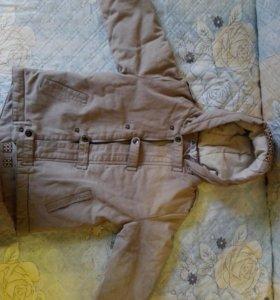 Новая демисезонная куртка (мальч., от 4 до 6 лет)
