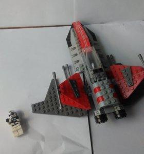 """Самолёт из звездных воин """"Лего"""""""