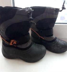 Зимние ботинки камик