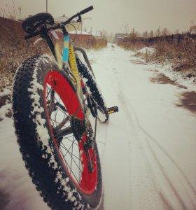 Внедорожный велосипед Фэтбайк