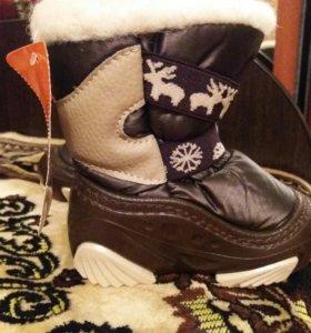 детская зимняя обувь-демары