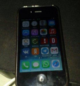 Айфон 4-8 Черный