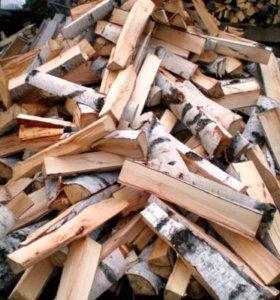 Колотые и не колотые дрова