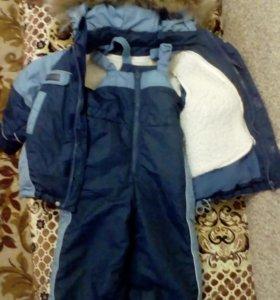 Детский кастюм зима