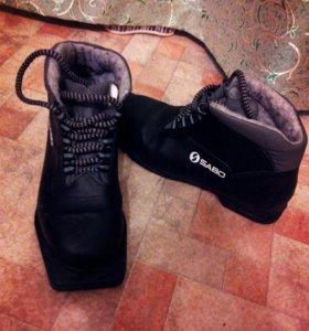 Лыжные ботинки б/у 1 раз