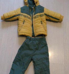 Куртка и комбез р.74