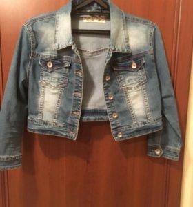 Платье, джинсовая куртка