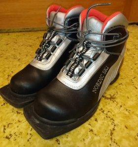 Лыжные ботинки для детей