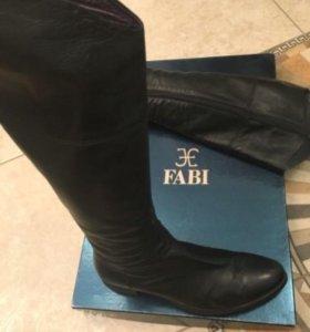Сапоги жен Fabi (Италия), натур кожа 39 разм