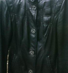 Кожаная куртка!!!