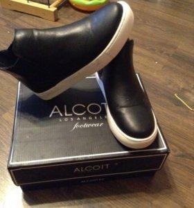 Ботинки слипоны alcot