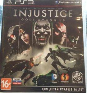 Игра на PS3 INJUSTICE