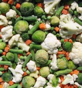 Ягоды для компота и Овощи  замороженые