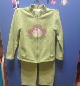 Толстовка(костюм брюки+кофта) для девочки