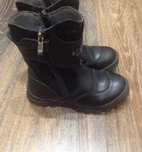 Ботинки Vitacci зимние кожаные