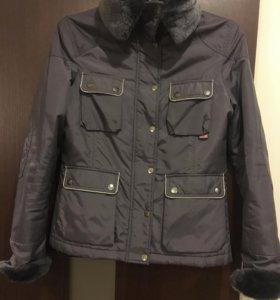 Куртка  зимняя/осенняя/весенняя  металлик