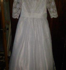 Свадебное платье, размер 46-48,