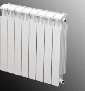 Радиатор рифар монолит 500 одна секция 720