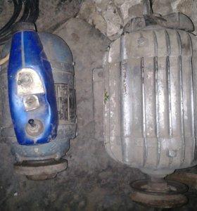 Двигатели электрические и точило