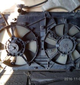 Радиатор охлаждения на Ипсум АСМ-21,25,28 2001-10г