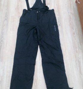 Утепленные брюки мужские