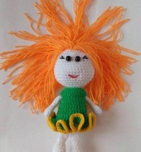 Куколка Рыжуля ручная работа