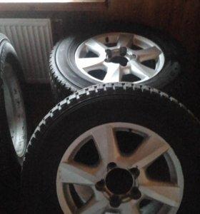 Зимние колёса Dunlop