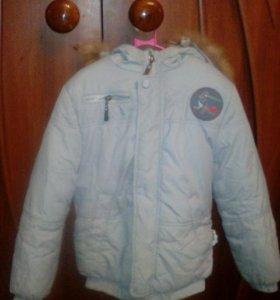 Куртка зимняя на мальчика❄