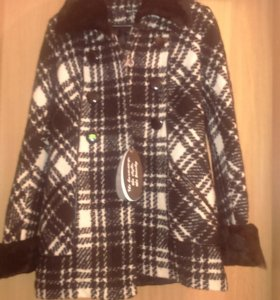 Пальто с мехом  зима