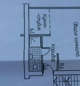 Квартира-студия 30м2