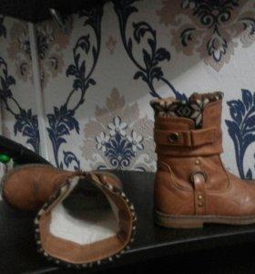 Обувь зимняя и демисезонная для девочки