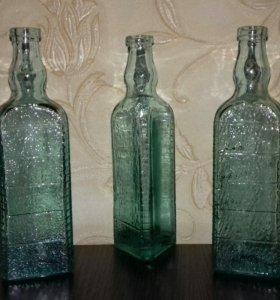Старинный флакон пузырёк бутылочка