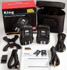 беспроводной синхронизатор Pixel King for Canon -