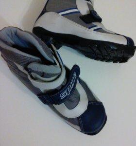 Детские лыжные ботинки spine